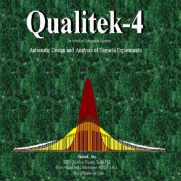دانلود Qualitek-4 طراحی آزمایش ها به روش تاگوچی