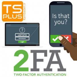 ۲FA TSplus addon