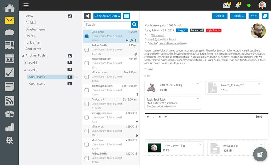 SmarterMail client