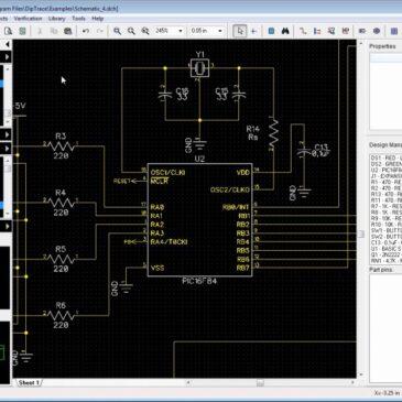 دانلود طراح مدار الکترونیکی DipTrace 4.0.0.2 x86/x64
